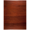 Anji Mountain 46-in W x 60-in L Dark Cherry Chair Mat