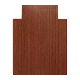 Anji Mountain Dark Cherry Chair Mat (Common: 3-ft x 4-ft; Actual: 36-in x 48-in)
