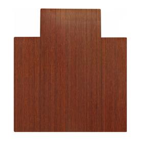 Anji Mountain Dark Cherry Chair Mat Mat (Common: 3-ft x 4-ft; Actual: 36-in x 48-in)