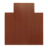 Anji Mountain 36-in W x 48-in L Dark Cherry Chair Mat