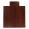 Anji Mountain 44-in W x 52-in L Dark Cherry Chair Mat