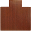 Anji Mountain Dark Cherry Chair Mat Mat (Common:; Actual: 55-in x 57-in)