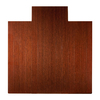 Anji Mountain Dark Cherry Chair Mat (Common: 4-Ft x 5-Ft; Actual: 55-in x 57-in)