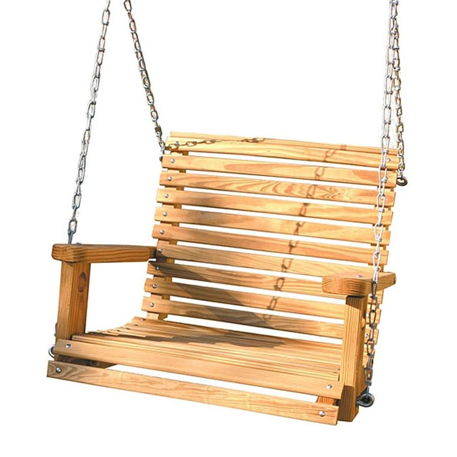 Shop Gorilla Playsets Wood Casual Porch Swing at Lowes.com