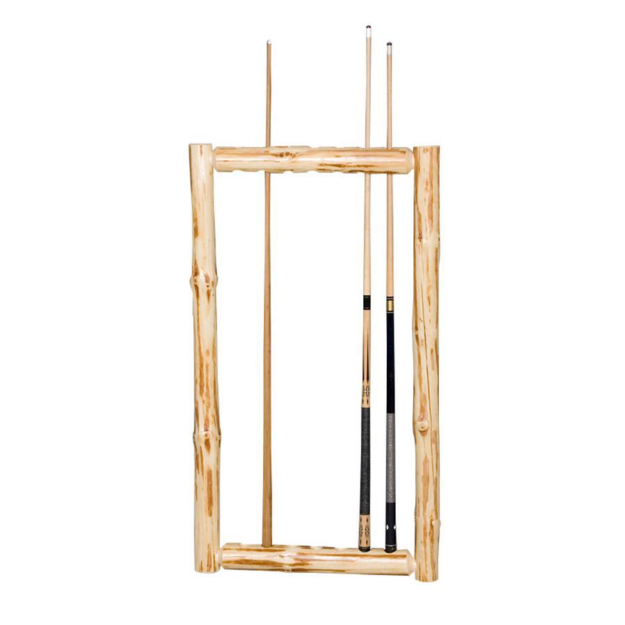 Shop viking industries klondike 48 in clear pool cue rack for Cue rack plans