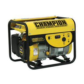 Champion Power Equipment 1200-Running-Watt Portable Generator With Champion Engine