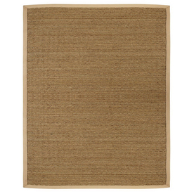 Anji Mountain Saddleback 2-ft 6-in W x 8-ft L Seagrass Runner