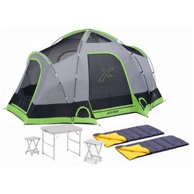 Xscape Vista 6 Table Stools and Sleeping Bag Combo