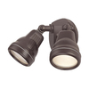 Acclaim Lighting 2-Head Halogen Architectural Bronze Switch-Controlled Flood Light