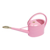 Bosmere Slimcan 1.32-Gallon Pink Metal Watering Can