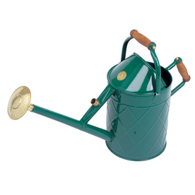 Bosmere 2.4-Gallon Green Metal Heritage Watering Can