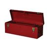 International Tool Storage 26-in Red Steel Lockable Tool Box