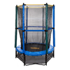 Pure Fun 4.5-ft Round Kids Trampoline with Enclosure