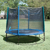 Pure Fun 8-ft Round Kids Trampoline with Enclosure