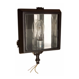 Morris Products 1-Head Metal Halide Bronze Switch-Controlled Flood Light