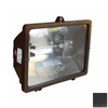 Morris Products 1-Head Halogen Bronze Switch-Controlled Flood Light