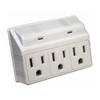 Morris Products 3-Outlet 270 Joules General Use Surge Protector (Auto-Off Safety)