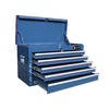 Excel 15.9-in x 26-in 5-Drawer Ball-Bearing Steel Tool Chest (Blue)