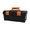 Homak 16-in Black Plastic Tool Box