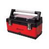 Homak 19.5-in Red Steel Lockable Tool Box