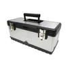 Homak 19.875-in Silver Steel Lockable Tool Box