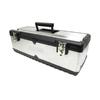 Homak 26-in Silver Steel Lockable Tool Box