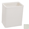 Redmon Chelsea White Mixed Material Wastebasket
