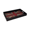 Cheung's 15.75-in x 9.5-in Wood Rectangle Serving Tray