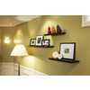 Style Selections 48-in Wood Wall Mounted Shelving