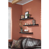 Style Selections 37.01-in Wood Wall Mounted Shelving
