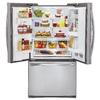 LG 30.5-cu ft French Door Refrigerator with Single Ice Maker Door Within Door (Stainless Steel)