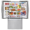 LG 32.5-cu ft French Door Refrigerator with Single Ice Maker (Stainless Steel)