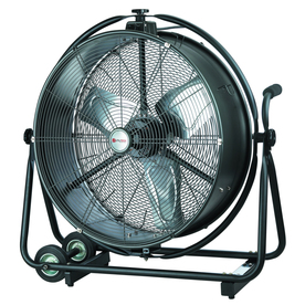 shop utilitech 24 in 2 speed oscillating high velocity fan at. Black Bedroom Furniture Sets. Home Design Ideas