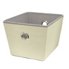 Style Selections 12-in W x 8-in H x 10-in D Cream Fabric Bin