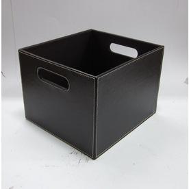 allen + roth 11-in W x 8-in H x 10-in D Vinyl Crate