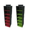 Harvey Lewis 13-in W x 47-in H 2 Color 6-Shelf Organizer