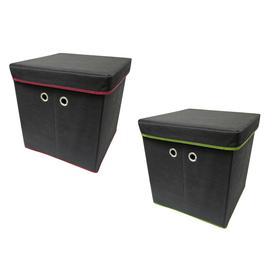Harvey Lewis 15.75-in W x 16-in H x 15.75-in D Storage Cube