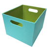 Harvey Lewis 11-in Teal Milk Crate