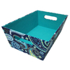 Harvey Lewis 14-1/2-in Paisley Shallow Tote
