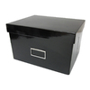 Harvey Lewis 10.25-in W x 6.12-in H Black Foldable Paper Box