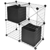 Style Selections 2 ft L x 11.25-in D Black Wire Shelf