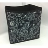 Style Selections 10.5-in W x 11-in H Floral Print Fabric Bin