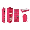 Style Selections Set of 5 13.5-in W x 14-in H Soft Organizers