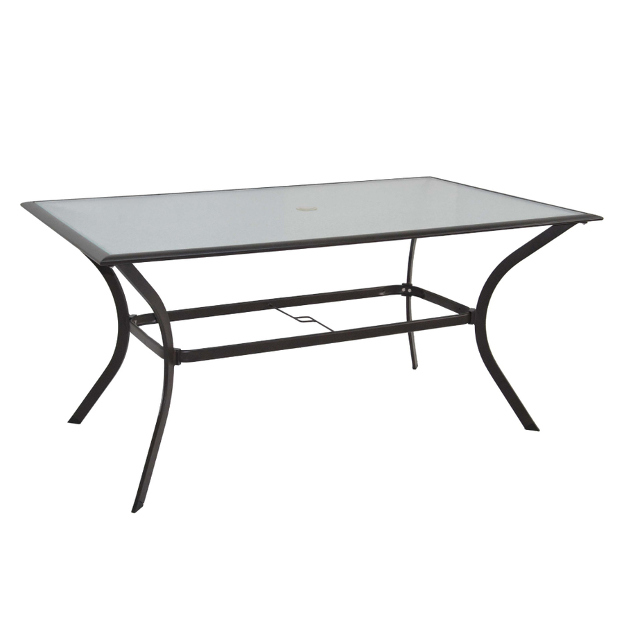Additional images for Glass top outdoor dining table