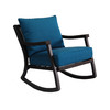 allen + roth Netley Brown Steel Conversation Chair