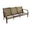 Garden Treasures Lynboro Brown Steel Sofa