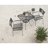 Garden Treasures Texas Bistro-Piece Steel Patio Dining Set