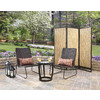 Garden Treasures Kenmont Steel Conversation Chair