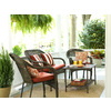 Garden Treasures Severson Steel Patio Conversation Chair