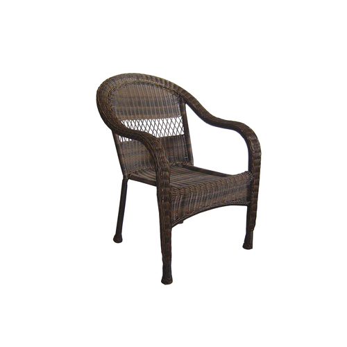Garden Treasures Severson Wicker Patio Chair & Bench at
